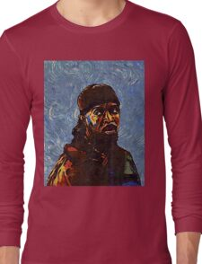 Omar Little by VanGogh - www.art-customized.com Long Sleeve T-Shirt