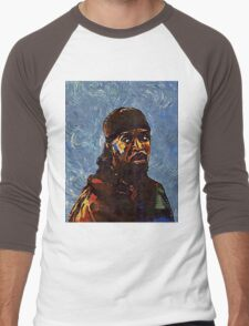 Omar Little by VanGogh - www.art-customized.com Men's Baseball ¾ T-Shirt