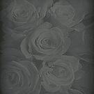 Antique Roses iPad Case by Fara