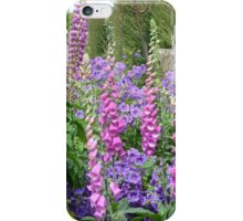 Cottage Garden Flowers iPhone Case/Skin