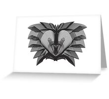 The Lion (Black) Greeting Card