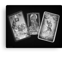 Tarot cards. Death. Canvas Print