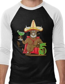 Cinco de Mayo Men's Baseball ¾ T-Shirt