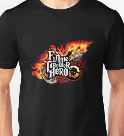 Flamethrower hero Unisex T-Shirt
