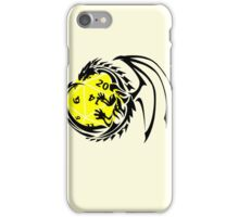 Dungeons and Dragons - Black and Yellow! iPhone Case/Skin