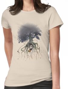 The Roaming Oak  Womens Fitted T-Shirt