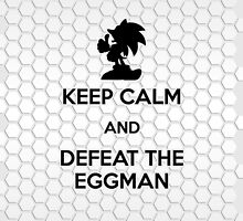 Keep Calm - Defeat the Eggman (iPad) by Adam Angold