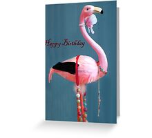 Stork Birthday card Greeting Card