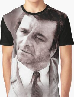 Peter Falk Columbo by John Springfield Graphic T-Shirt
