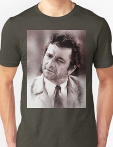 Peter Falk Columbo by John Springfield T-Shirt