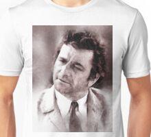 Peter Falk Columbo by John Springfield Unisex T-Shirt
