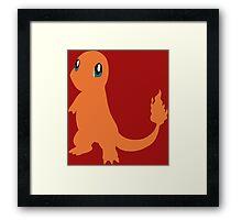Pokemon - Charmander Framed Print