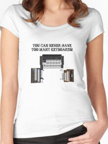Too Many Keyboards! Women's Fitted Scoop T-Shirt