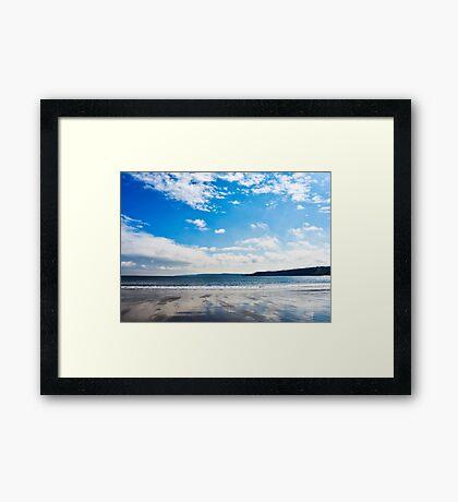 Desolate Landscape Framed Print
