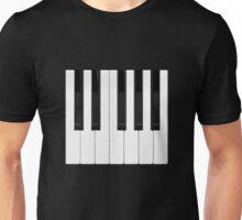 Piano / Keyboard Keys Unisex T-Shirt