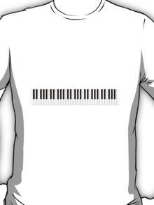 Piano / Keyboard Keys T-Shirt