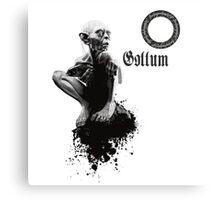 Gollum the fisher king  Metal Print