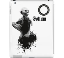 Gollum the fisher king  iPad Case/Skin