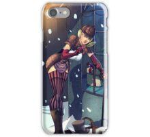 Sexy Female Sherlock Pin-up - She. R. Lock - Black Variant iPhone Case/Skin