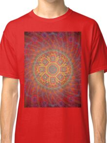 Psychedelic Spiral Design Classic T-Shirt
