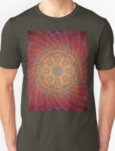 Psychedelic Spiral Design T-Shirt