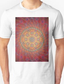 Psychedelic Spiral Design Unisex T-Shirt
