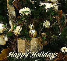 Happy Holidays by Sandy Keeton