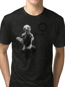 Gollum the fisher king  Tri-blend T-Shirt