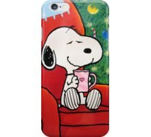 Snoopy waiting Christmas iPhone Case/Skin