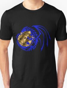 Dungeons and Dragons - Blue and Gold! T-Shirt
