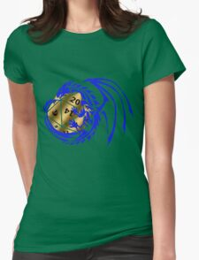 Dungeons and Dragons - Blue and Gold! Womens Fitted T-Shirt