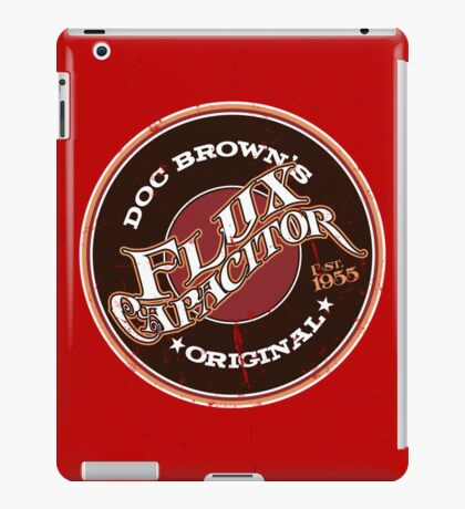 Doc Brown's Flux Capacitor iPad Case/Skin