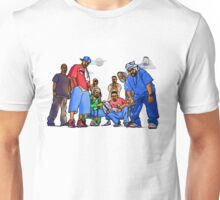 Wu-Tang Nine - www.art-customized.com Unisex T-Shirt