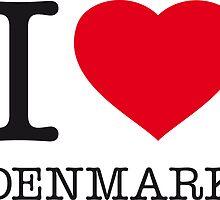 I ♥ DENMARK by eyesblau