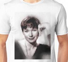 Shirley MacLaine by John Springfield Unisex T-Shirt