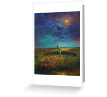 The Clock of God Greeting Card