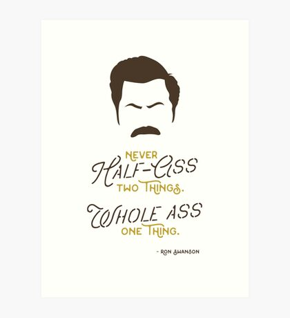 Pawnee's Finest Art Print