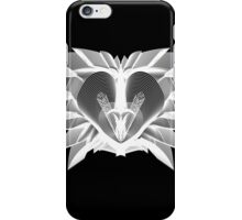 The Lion (White) iPhone Case/Skin