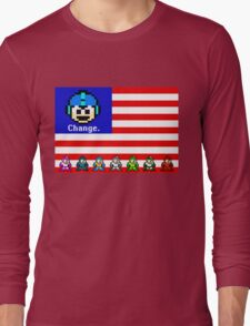 Mega Man: Change Long Sleeve T-Shirt