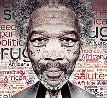 Morgan Freeman by CodyNorris