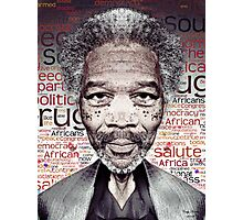 Morgan Freeman Photographic Print