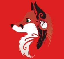 Spirit Animal: Red Fox Baby Tee