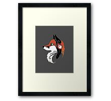 Spirit Animal: Red Fox Framed Print