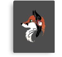 Spirit Animal: Red Fox Canvas Print
