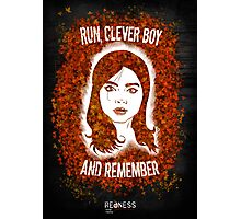 Clara Oswin Oswald (Alternate version) Photographic Print