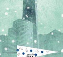 A New York Christmas Sticker