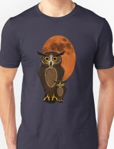 Mom and baby owl Unisex T-Shirt