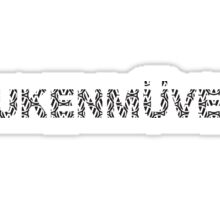 Fukenmuven VW Sticker Sticker