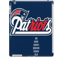 patRIOTs iPad Case/Skin
