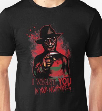I want You in your nightmares T-Shirt